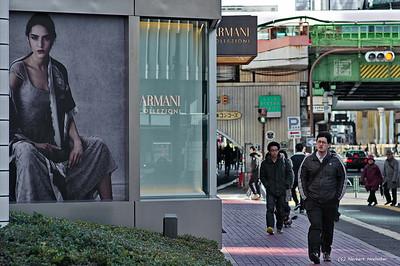Street shot in Tokyo/Ginza