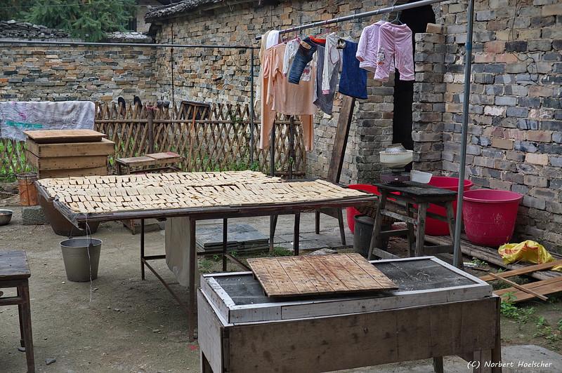Village life in Zhang Guying Village