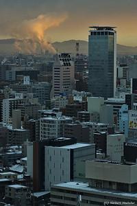 Nagoya WInter Sunrise