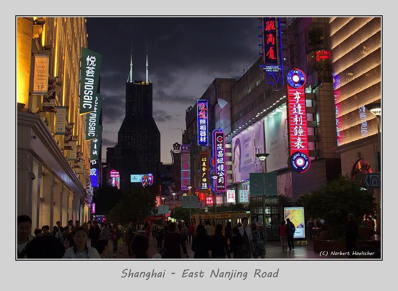Shanghai - East Nanjing Road