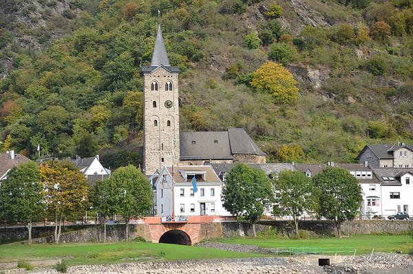 St. Martins Church, Wellmich, Germany