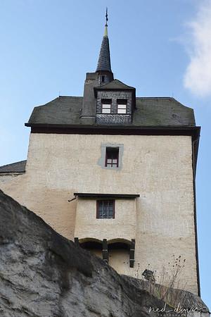 Marksburg Castle in Braubach