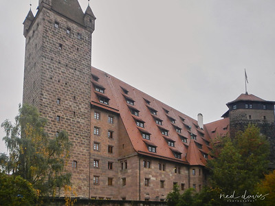 Luginsland Tower At Nuremberg Castle