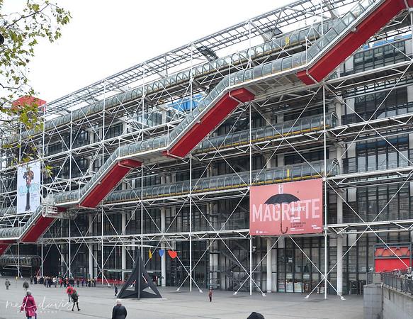 The Centre Pompidou - 1971