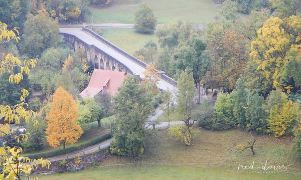 Medieval Double Bridge - Tauber Bridge