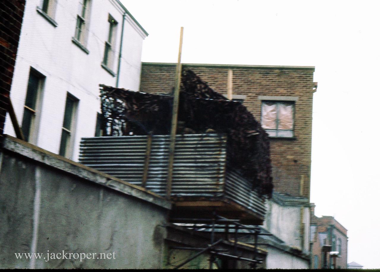 Belfast, Ireland . British bunker. vs IRA . Actual bunker. Photographer. J. Roper