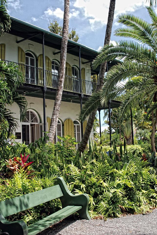 Key West, Florida- Ernest Hemmingway's  home