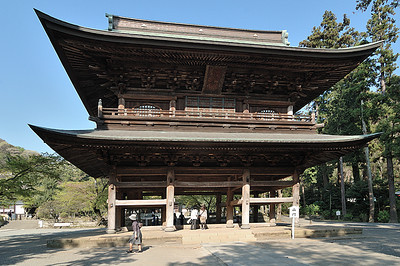 The Sanmon Gate, Engakuji