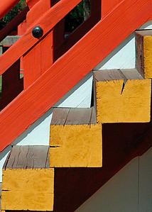Stairs, Kiyomizu temple, Kyoto