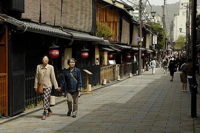 Street in Shirakawa.