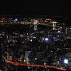 Night Vview from Tokyo tower. Japan