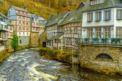 Water Wheel, Monschau
