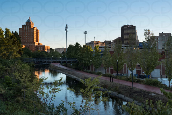 Ohio & Erie Canal in Downtown