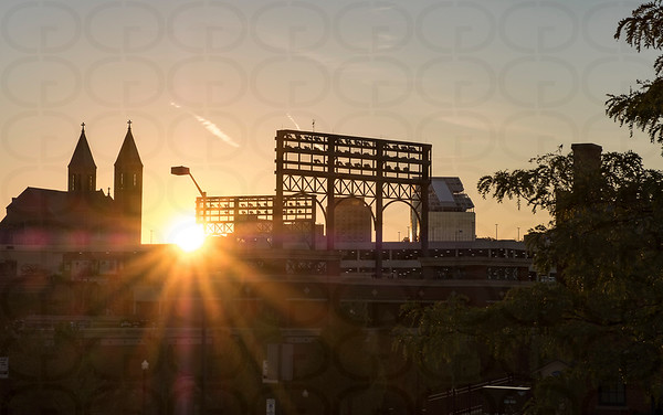 Sunrise Over Akron