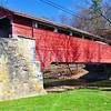 Guth Bridge also over the Jordan River, built in 1858.  This covered bridge is still in use today.