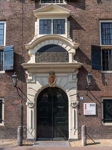 A municipal building of Amsterdam