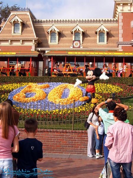 Entrance to Disney Land