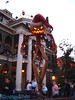 The Haunted Mansion is Decorated for Christmas (the nightmare before Christmas)