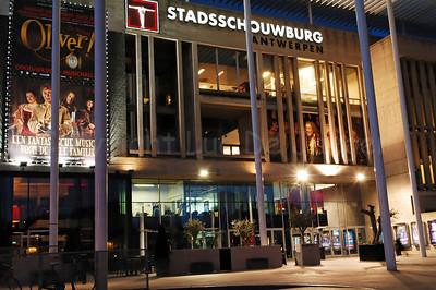The Stadsschouwburg in Antwerp (Antwerpen), Belgium.
