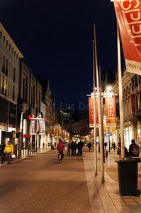 The Meir in Antwerp (Antwerpen), Belgium, is the main shopping street.