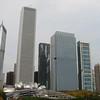 10-04-12 Chicago 467 Two Prudential Plaza Aon Center Aqua from Nichols Bridgeway