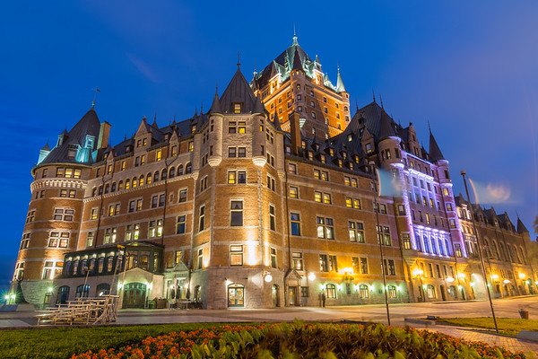 Le Chateau Frontenac, Quebec City