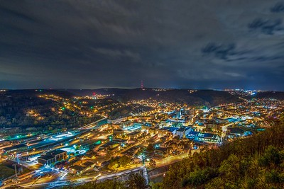 Johnstown At Night