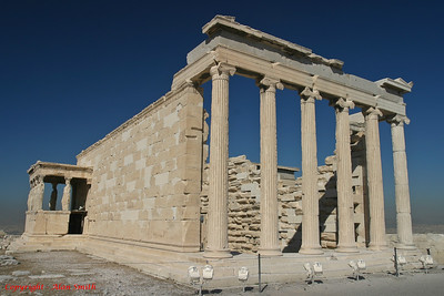 Erechtheion (Temple to Athena) - Athens