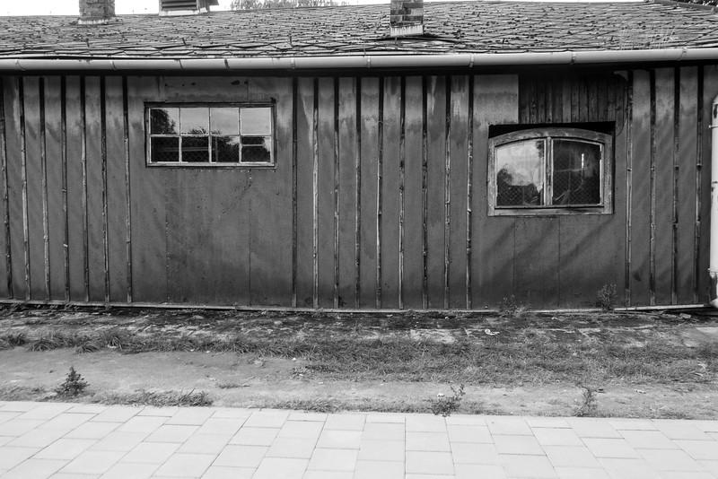 Auschwitz stables