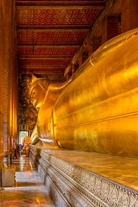 Reclining Buddha - Bangkok