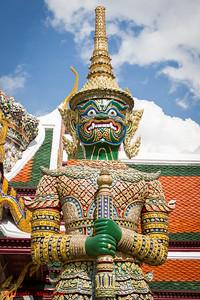 The Emerald Buddha Temple (Wat Phrakaew) - Bangkok