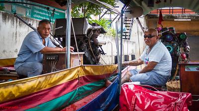 Bangkok River Boat Drivers