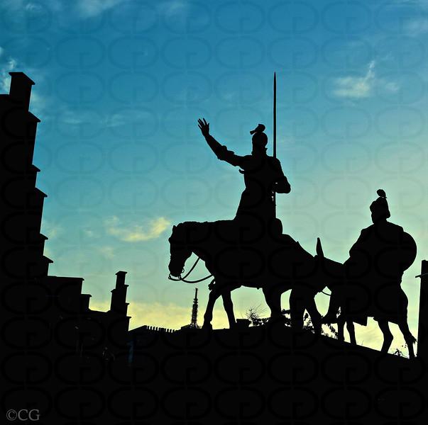 Don Quixote & Sancho