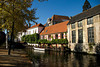 Bruges, Belgium - along the Canals of Bruges