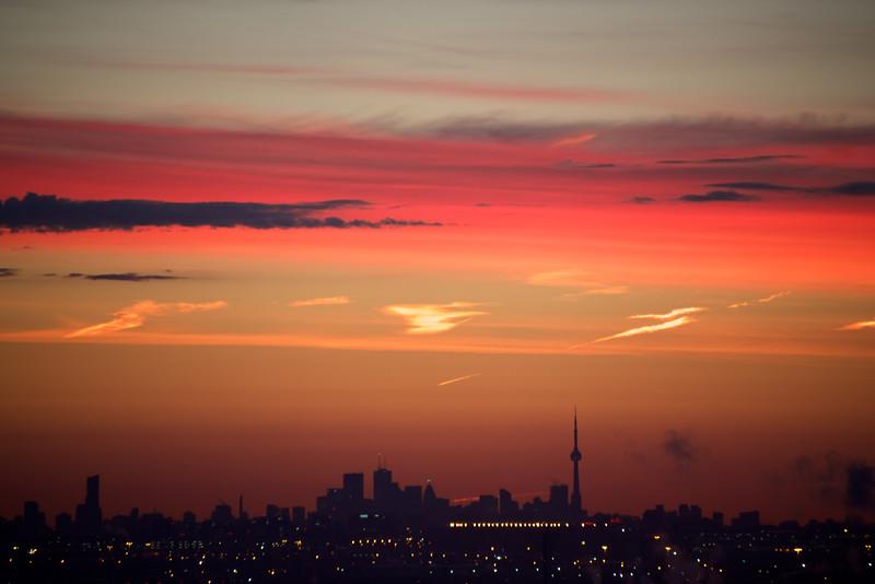 CN Tower from Brampton