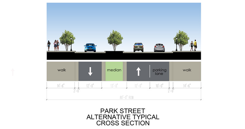 E:\Park Street Typical Cross Sections.dwg