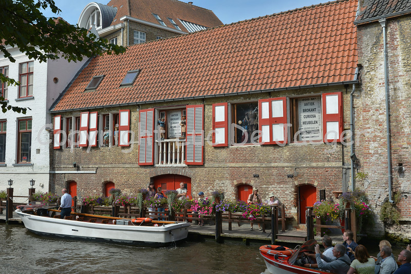 A boat trip on the canal in Bruges (Brugge), Belgium is well worth it.