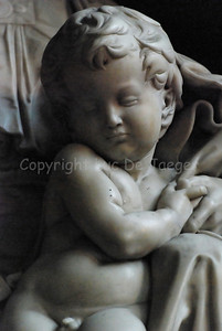 The Madonna and Child (Mary with the infant Jesus), a marble sculpture by Michelangelo which can be found in the Church of Our Lady (Onze Lieve Vrouwekerk) in Bruges (Brugge), Belgium. It was the only sculpture by Michelangelo to leave Italy during his lifetime.