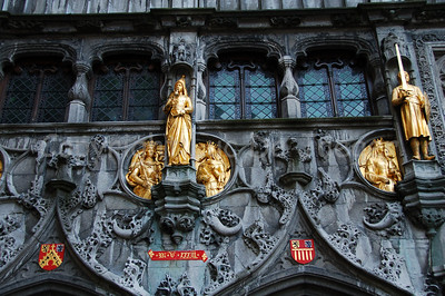 The Holy Blood Chapel on the Burg square.