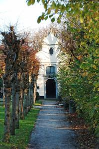 The Minnewaterpark in Bruges (Brugge), Belgium.