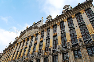 The House of the Dukes of Brabant (Huis der Hertogen van Brabant) on the Market square (Grote Markt) in Brussels (Brussel), Belgium.