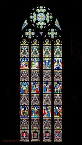 Stained Glass Window - Budapest