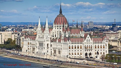 The Hungarian Parliment Building - Budapest