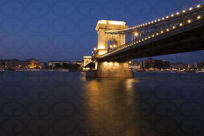 The Chain Bridge at Night