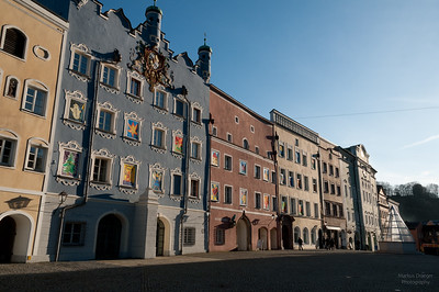 Burghausen, Stadtplatz
