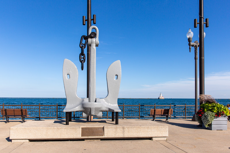 USS Chicago Anchor