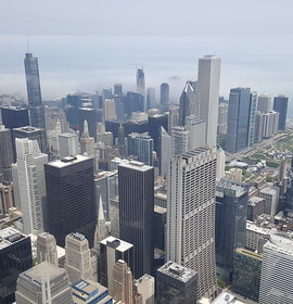 103 floors above the Second City: Chicago