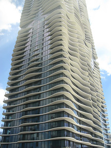 Aqua skyscraper (voted best skyscraper)