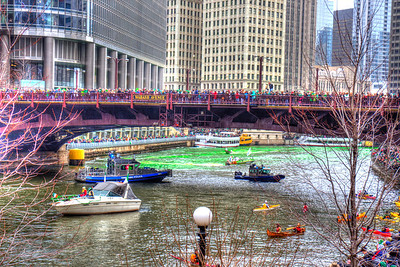 2013 St. Patrick Day's Dying of the Chicago River - 3.16.13 Chicago Hilton Hotel - Michigan Avenue - Chicago, Illinois