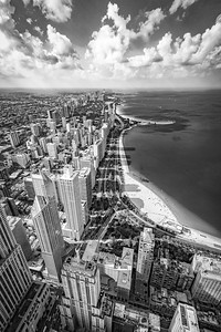 Lakeshore Drive Black and White